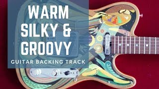 Warm, Silky & Groovy Guitar Backing Track in G# Minor