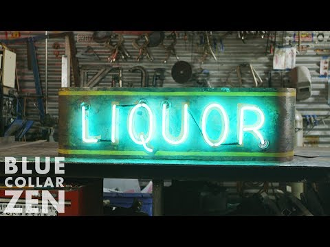 Watch a Master Craftsman Make an Old-School Neon Sign by Hand