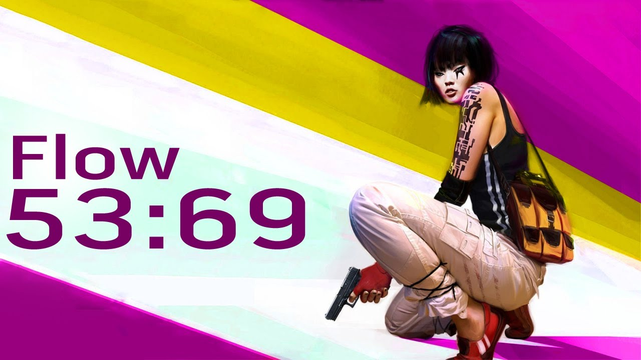 mirror's edge time trials - flow pc 53:69[position 13] - youtube