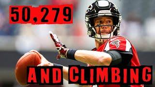 Falcons QB Matt Ryan Continues to Set Records Despite Bad O-line Year after Year