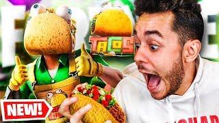 ¡VIVAN LOS TACOS DE MÉXICO EN FORTNITE! - TheGrefg