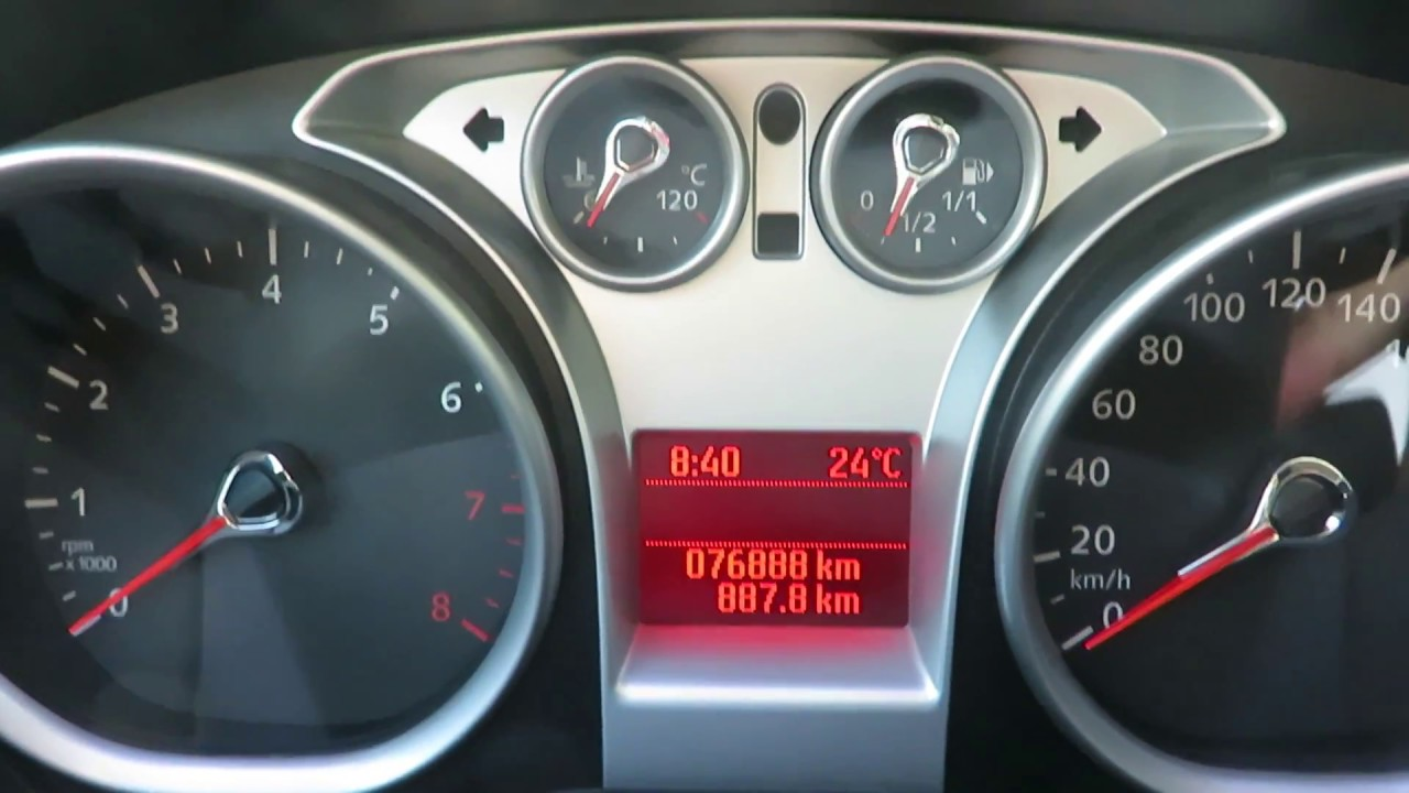 2011 Ford Focus self diagnostic test