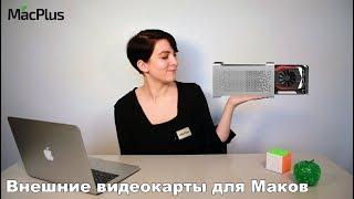 Tashqi video karta uchun Mac (MacBook va iMac) — zamonaviylashtirish Mac universal yo'l