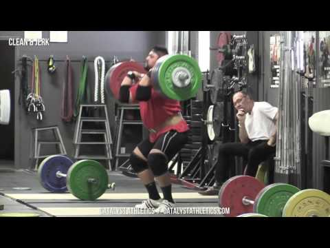 Clean & Jerk - Olympic Weightlifting Exercise Library - Catalyst Athletics