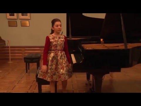 "G. Chitchyan Prelude ""Dedication to Silva Kaputikyan"""