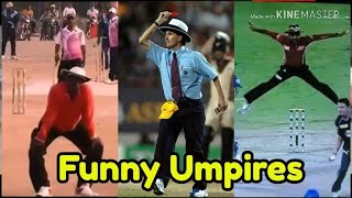 Funny Umpires in Cricket History Ever in 2020