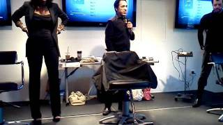 Varji and Varji @ Paul Mitchell school pt.1