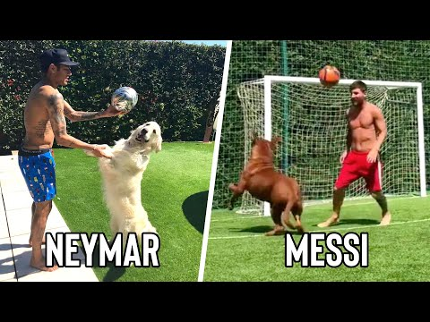 Famous Footballers & Their Dogs / Pets