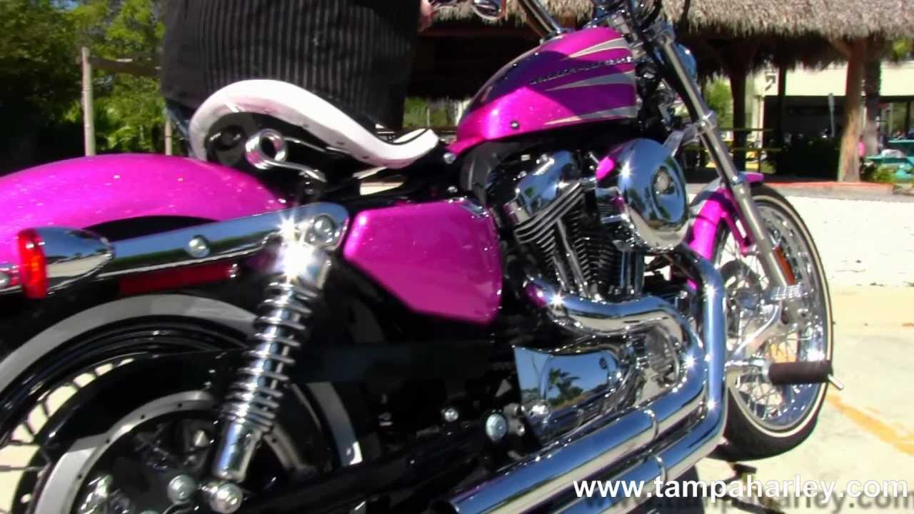 Harley Davidson Covers >> New 2013 Harley-Davidson XL1200V Sportster Seventy-Two with Bassani Exhaust - YouTube