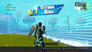 VITTORIA REALE LIVE Fortnite season 6 gameplay ita ps4