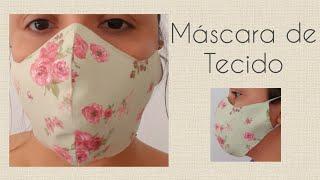 Máscara de tecido – Linda e fácil