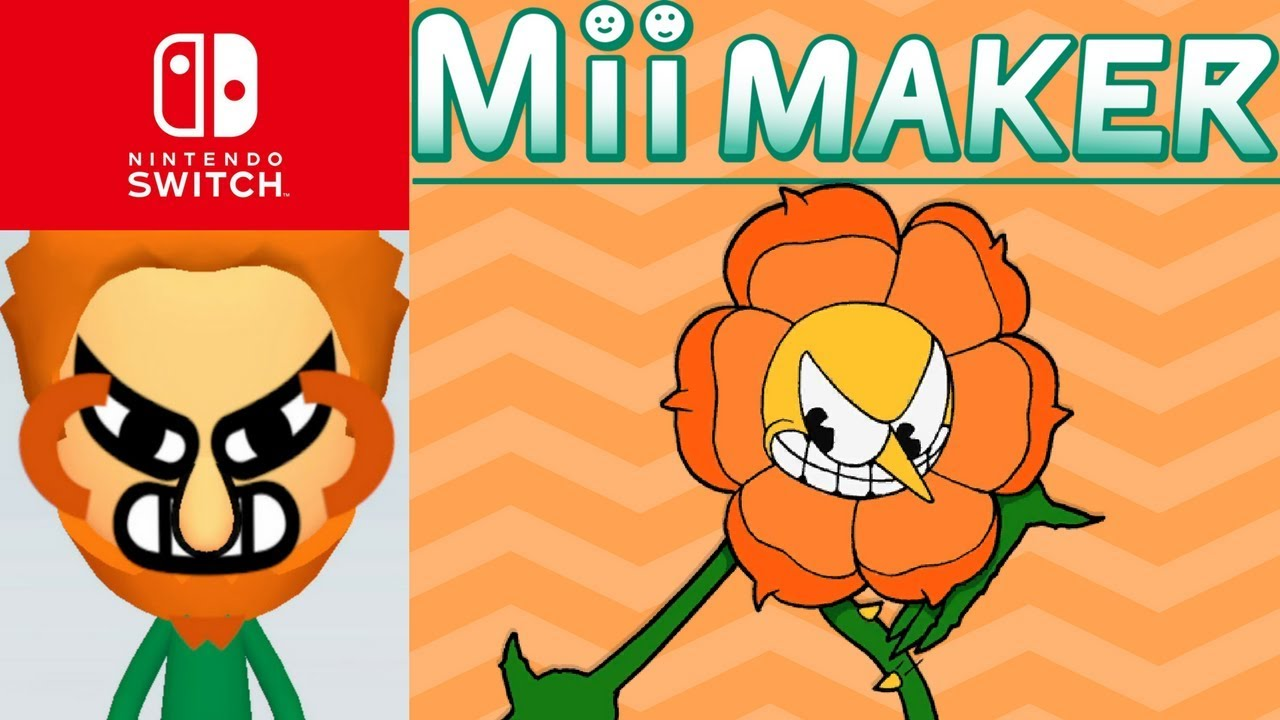 Mii Maker How To Create Cagney Carnation From Cuphead
