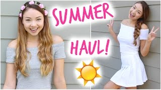 Summer Haul + Exciting Announcement! | Meredith Foster