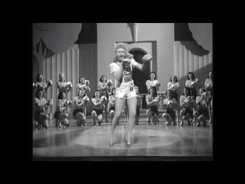 Cute  & Dance Number  1942   Betty Grable