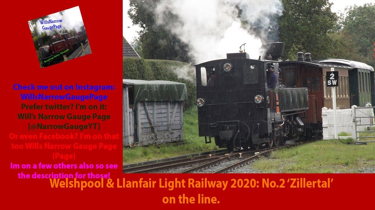 Download Welshpool & Llanfair Light Railway 2020: No.2 'Zillertal' on the line.
