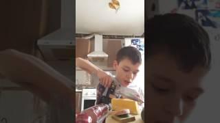#уроки кулинарии от школьника