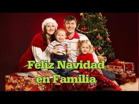 Feliz Navidad en Familia - Una Frase de Navidad - YouTube