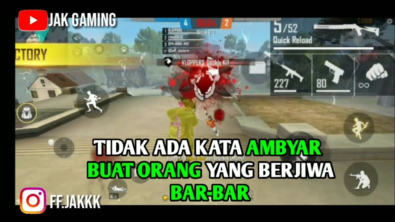 Kumpulan Quotes Free Fire Mode Clash Squad Cocok Buat Story