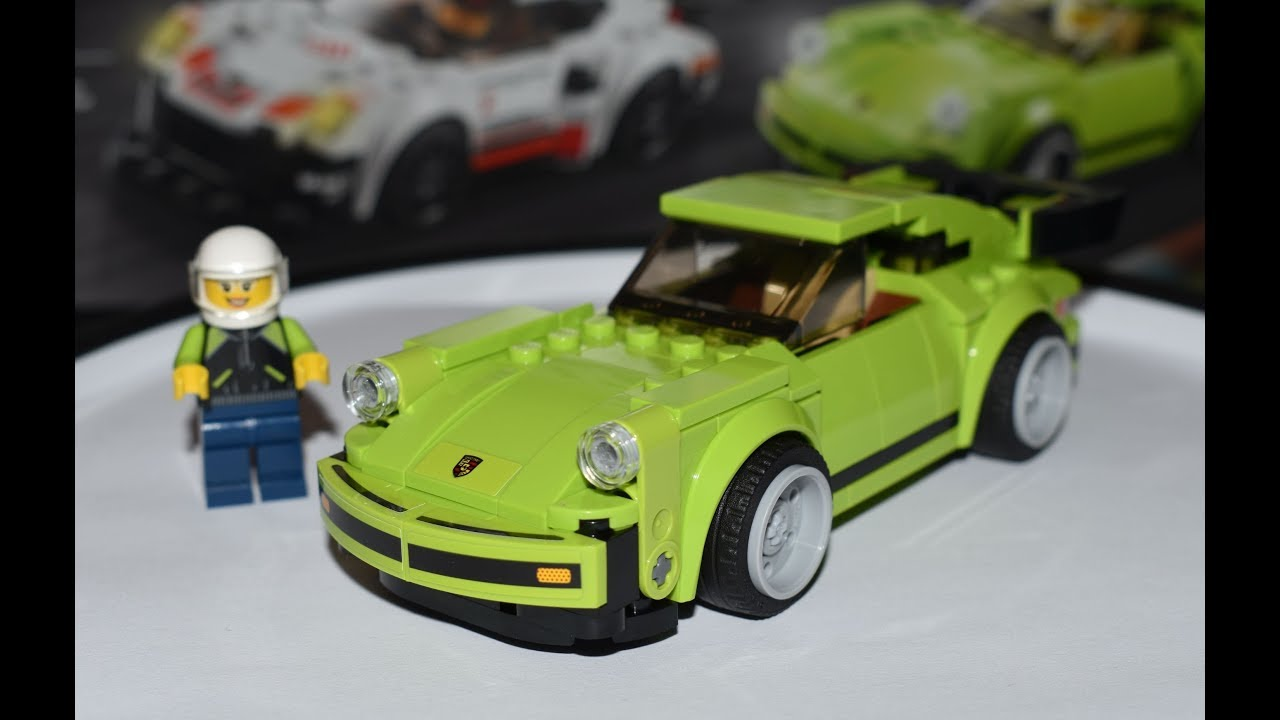 new lego speed champions 75888 porsche 911 turbo 3 0 speed build 2018 youtube. Black Bedroom Furniture Sets. Home Design Ideas