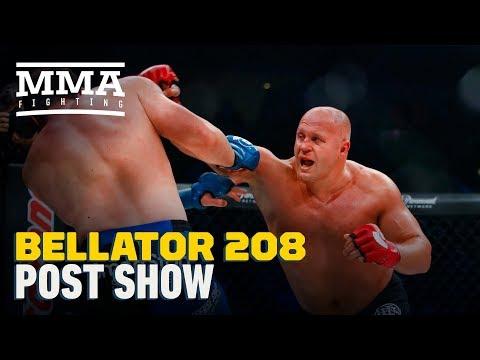 Bellator 208 Post-Fight Show - MMA Fighting