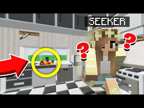 HIDING FROM A GIRL! | GIANT Hide & Seek! - Minecraft Mods