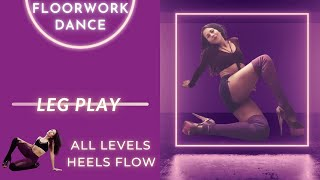 Easy Beginner EXOTIC DANCE | How To LEG PLAY | PoleFit