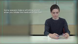 "Using a Spacer to Get the Most out of a Metered Dose Inhaler or ""puffer"""