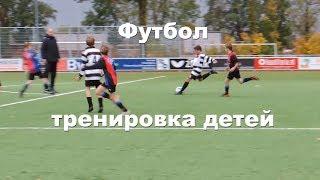 Футбольная тренировка детей