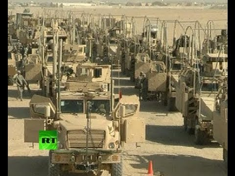 'On the Road' Video: US army leaves Iraq, settles in neighboring Kuwait