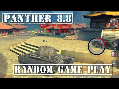 Wot Panther mit 8,8 cm L71 (Valkyria Chronicles skin) | 4K video | 7 kills | 4.382 DMG - Erlenberg from YouTube · Duration:  10 minutes 17 seconds