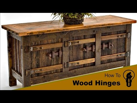 How to Make a Wood Hinges