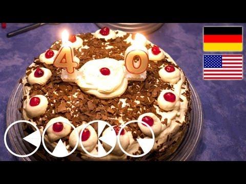 SCHWARZWÄLDER KIRSCHTORTE Rezept --- BLACK FOREST CAKE