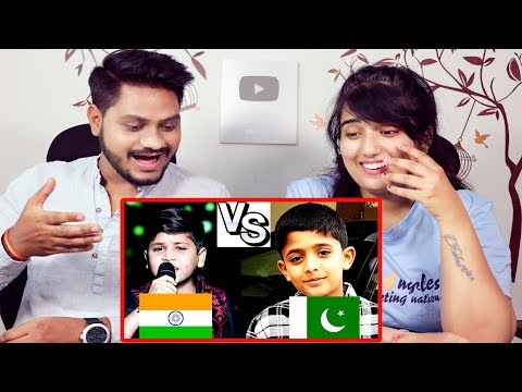 Indian Reaction On Pakistani Kid Arshman Naeem Vs Indian Kid Zaid Ali (Junior Rahat Fateh Ali khan)