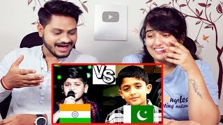 Indian Reaction On Pakistani Kid Arshman Naeem Vs Indian Kid Zaid Ali Junior Rahat Fateh Ali khan