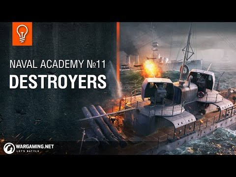 Naval Academy: Destroyers