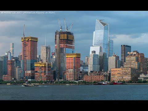 Hudson Yards - NYC $20 Billion New District! 16+ Skyscrapers Included - June 2017