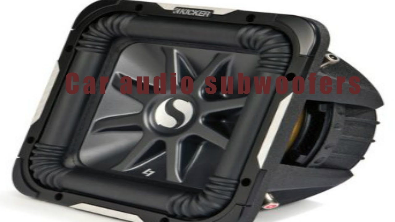 The Ten Best Car Audio Subwoofers Review Youtube Dual 10 Inch Jl Subwoofer