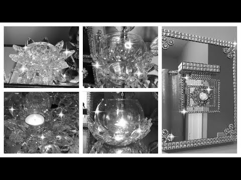 3 Dollar Tree Diys | Glam Decor| Bling Queen | Easy