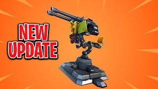 FORTNITE Live PS4 Game Play - NEW Turret & Food Fight Game Mode - Playing with SUBS