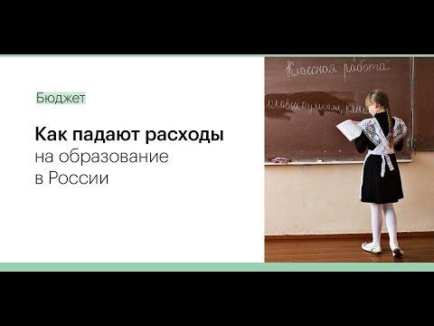 Как падают расходы на образование в России. Исследование РБК