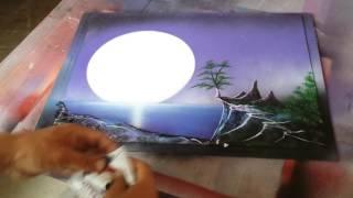 Spray arte#6, como pintar paisajes