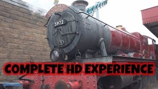 Hogwarts Express Train - London Kings Cross On-ride (Complete HD Experience) Universal Orlando WWoHP