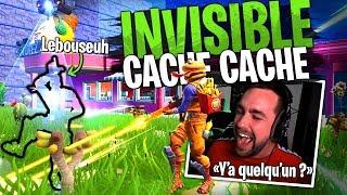 Nouveau Cache-Cache invisible Prop Hunt avec la Team Croûton sur Fortnite Créatif !