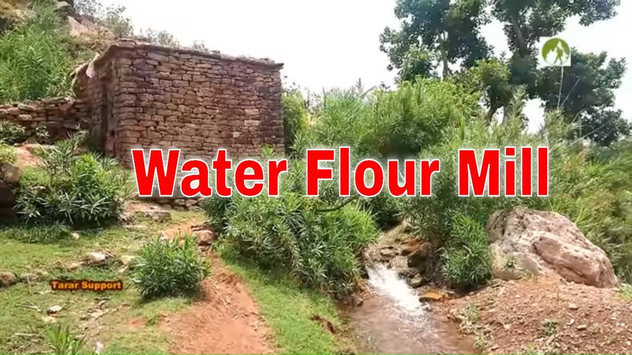 Pakistan Village Life Water Flour Mill visit