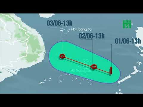 VTC14   Xuất hiện vùng áp thấp, Tây Nguyên và Nam Bộ mưa dông mạnh