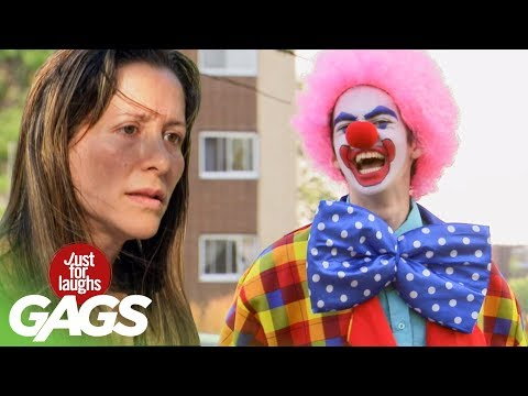 Crazy Clown Puts Lives In Danger For Comedy
