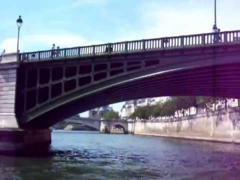 Paris Bateau mouche  solaire 1 ère partie