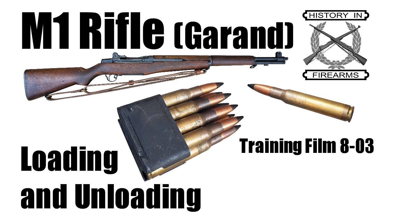M1 Rifle (Garand) Loading and Unloading (TF 8-03)