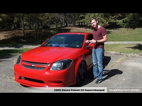 Review: 2005 Chevy Cobalt SS Supercharged