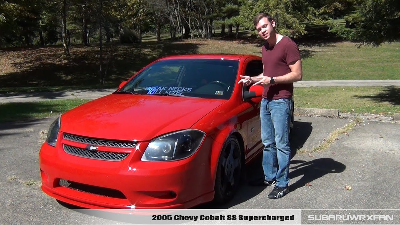 review 2005 chevy cobalt ss supercharged youtube. Black Bedroom Furniture Sets. Home Design Ideas